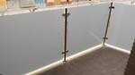 barandilla exterior inox + vidrio seguridad gris